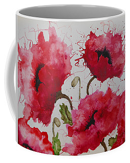 Party Poppies Coffee Mug