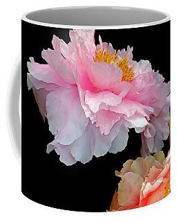 Pas De Deux Glowing Peonies Coffee Mug