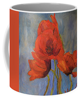 Pas De Poppies Coffee Mug