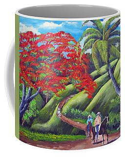 Paseo A Caballo Coffee Mug by Luis F Rodriguez