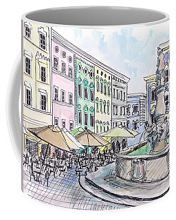 Passau Town Square Coffee Mug