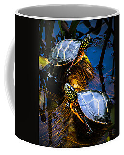 Coffee Mug featuring the photograph Passing The Day With A Friend by Bob Orsillo