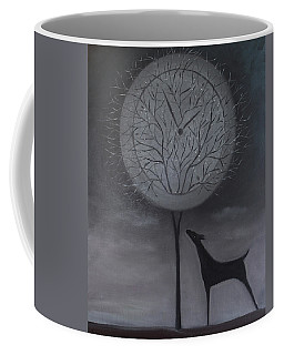 Coffee Mug featuring the painting Passing Time by Tone Aanderaa