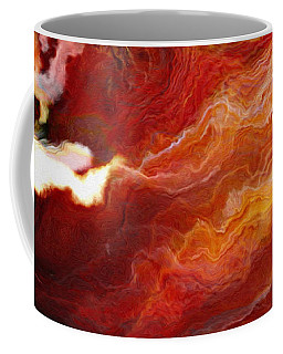 Passion - Abstract Art - Triptych 3 Of 3 Coffee Mug