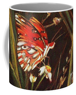 Passion Butterfly - Gulf Fritillary Coffee Mug