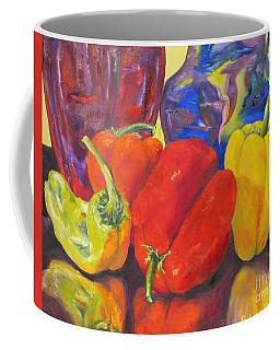 Passionate Peppers Coffee Mug by Lisa Boyd