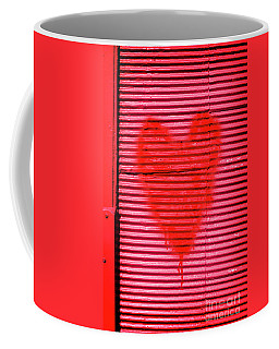 Passionate Red Heart For A Valentine Love Coffee Mug