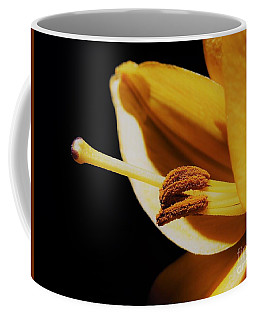 Passionate Yellow Lily Coffee Mug