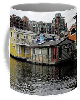 Coffee Mug featuring the photograph Past And Present Architecture by Haleh Mahbod