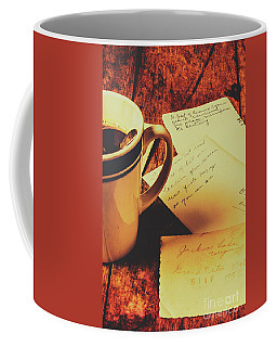 Past Postcard Preoccupations  Coffee Mug