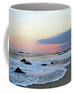 Coffee Mug featuring the photograph Pastel Blue by Victor K