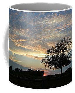 Pastel Clouds At Sunset Coffee Mug