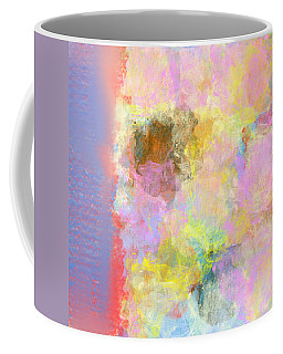 Pastel Flower Coffee Mug by Jessica Wright