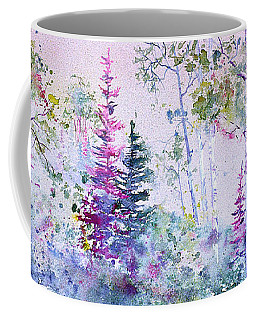 Pastel Forest Coffee Mug