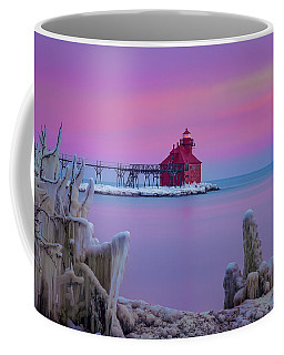 Pastel Lighthouse Coffee Mug