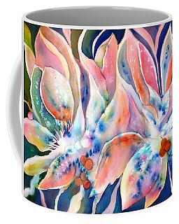 Pastel Lily Flowers Coffee Mug
