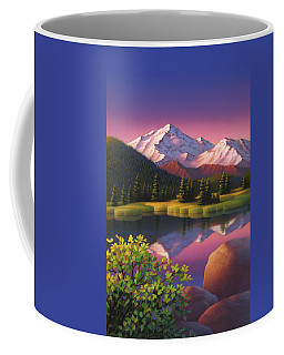 Pastel Mountain Coffee Mug