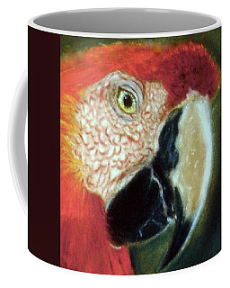 Pastel Of Red On The Head  Coffee Mug