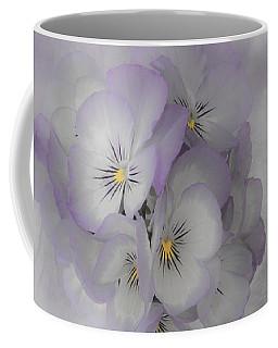 Pastel Pansies Still Life Coffee Mug