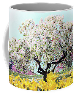 Coffee Mug featuring the photograph Pastel Park by Jessica Jenney