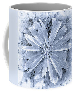 Pastel Purple Blue Daisy Bw Coffee Mug
