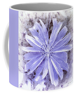 Purple Blue Daisy Coffee Mug