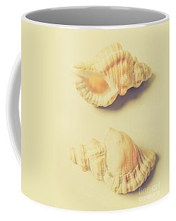 Pastel Seashell Fine Art Coffee Mug