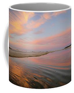 Pastel Skies And Beach Lagoon Reflections Coffee Mug