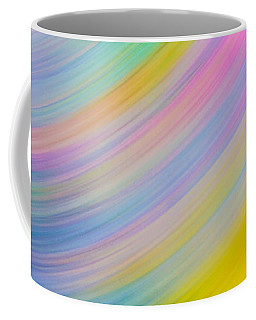 Pastel Spin Coffee Mug by Samantha Thome