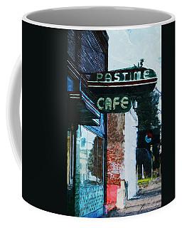 Pastime Cafe- Art By Linda Woods Coffee Mug
