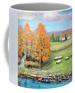 Pasture Happy Coffee Mug