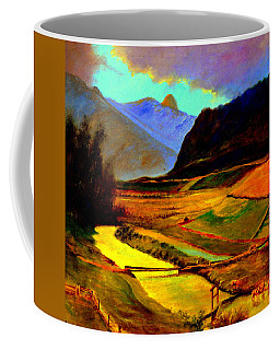 Pasture In The Mountains Coffee Mug