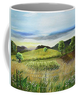 Pasture Love At Chateau Meichtry - Ellijay Ga Coffee Mug
