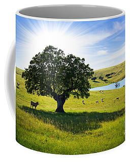 Pasturing Cows Coffee Mug