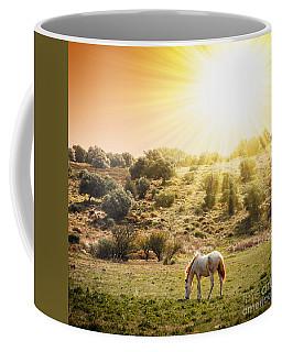 Pasturing Horse Coffee Mug