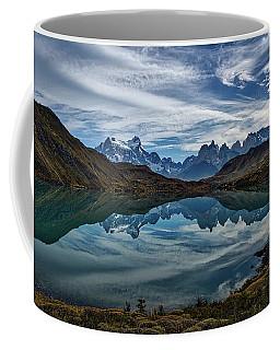 Patagonia Lake Reflection - Chile Coffee Mug