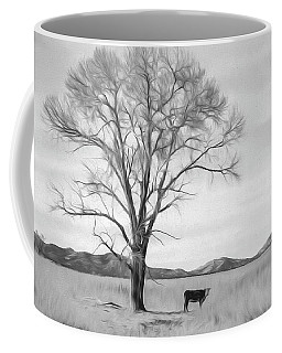 Patagonia Pasture Bw Coffee Mug