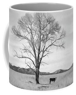 Patagonia Pasture Bw Coffee Mug