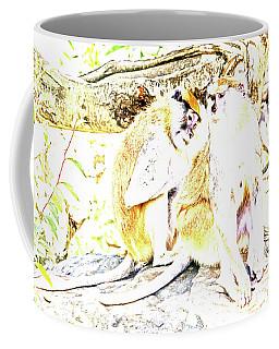 Patas Abstract Coffee Mug