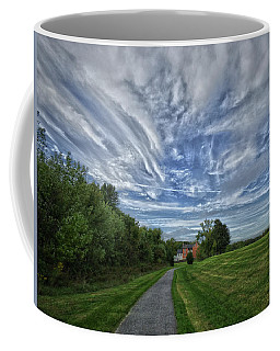 Coffee Mug featuring the photograph Path by Robert Geary