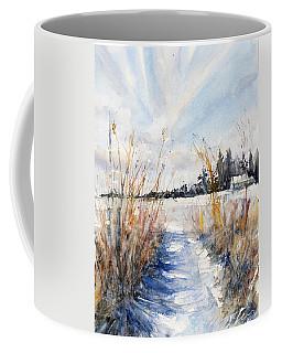 Path Shadows In The Way Back Coffee Mug