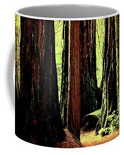 Path Through The Forest Edge . 7d5432 Coffee Mug