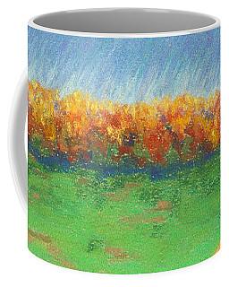 Path To Autumn Trees Coffee Mug