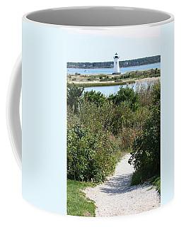 Path To Edgartown Lighthouse Coffee Mug