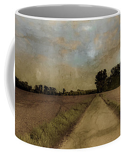 Coffee Mug featuring the photograph Juchen, Germany - Path To Glehn by Mark Forte