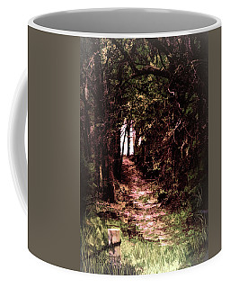 Coffee Mug featuring the photograph Path To Nowhere by Bonnie Willis