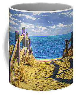 Path To Peace Coffee Mug