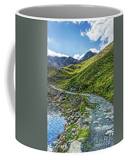 Coffee Mug featuring the photograph Path To Snowdon by Ian Mitchell