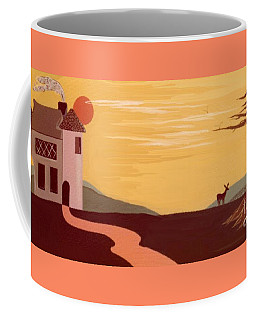Cartoon Castle Coffee Mug