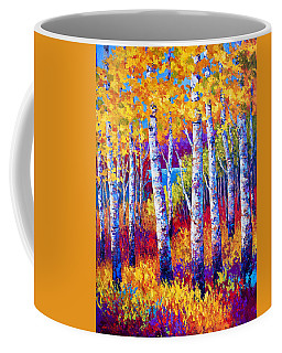 Path To The Lake Coffee Mug